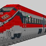 A - ETR 1000 - convoglio completo